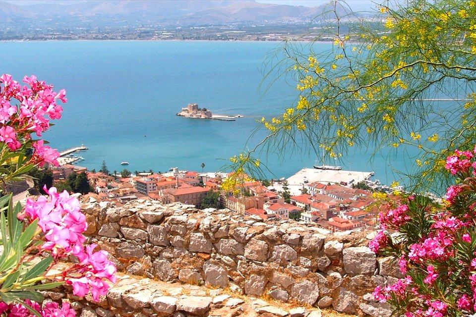 Baai van Nauplion, Griekenland