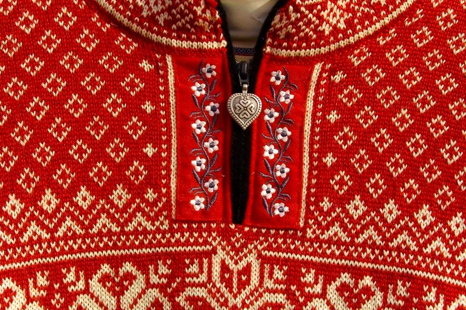 Kleurrijke trui, Noorwegen