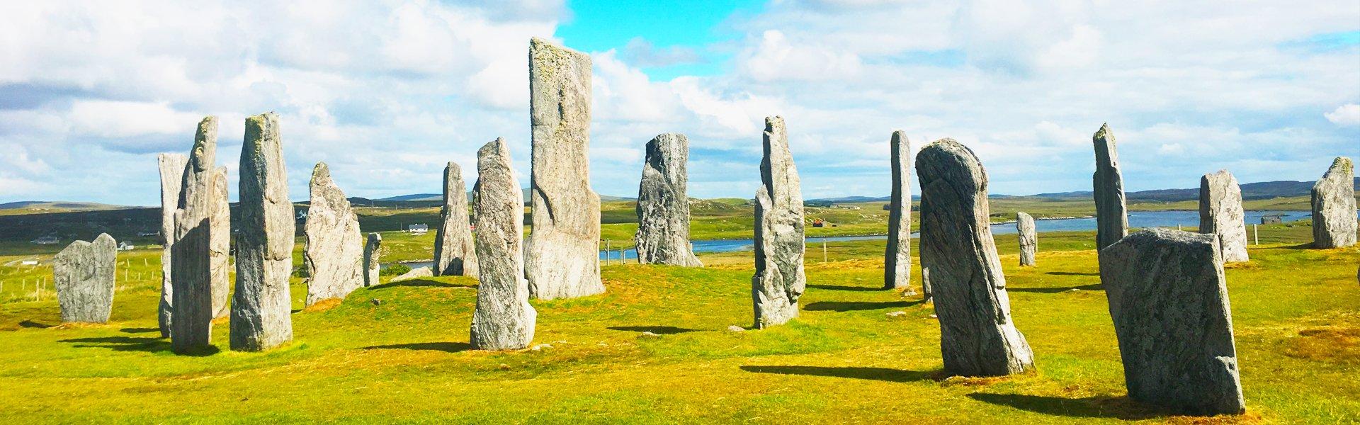 Staande stenen, Groot-Brittannië