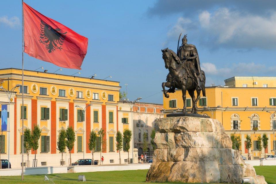 Tirana, Albanië