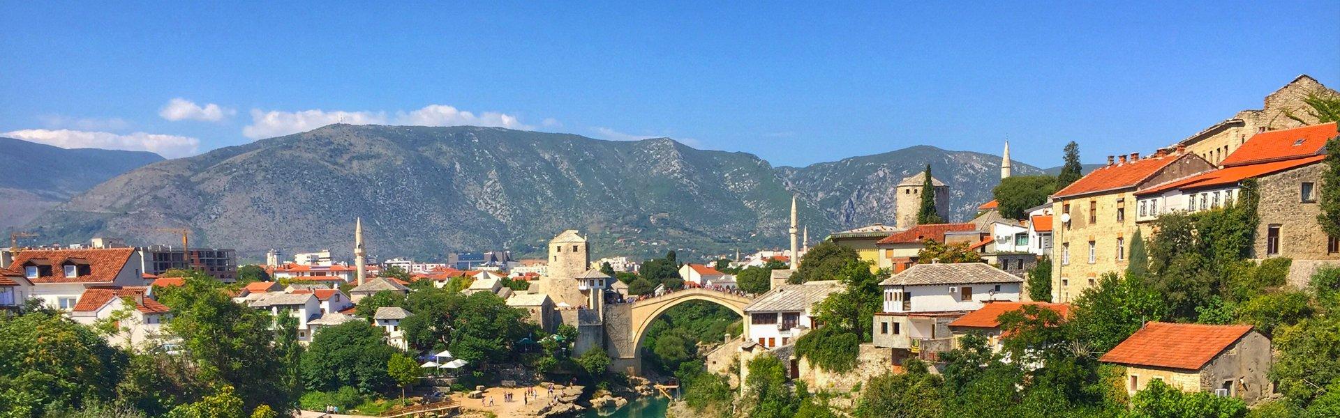 Mostar in Bosnië-Herzegovina
