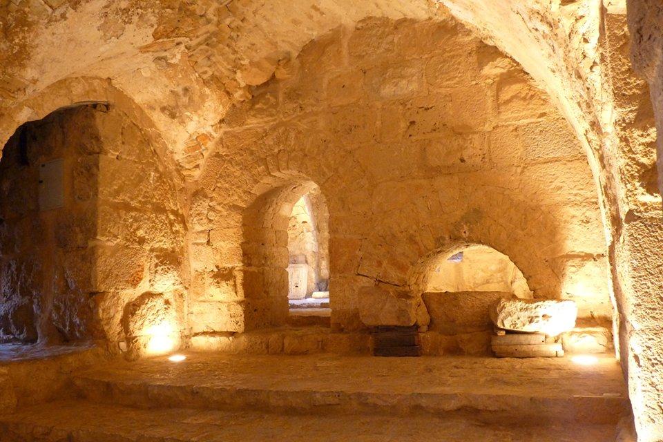 Middeleeuws kasteel Aljun, Jordanië