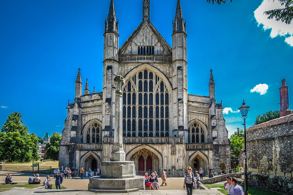 Winchester Cathedral, Groot-Brittannië