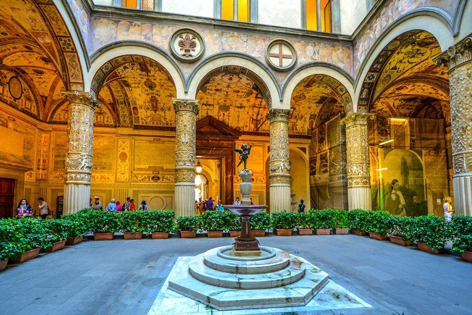 Plazzo Medici Riccardi in Florence, Italië