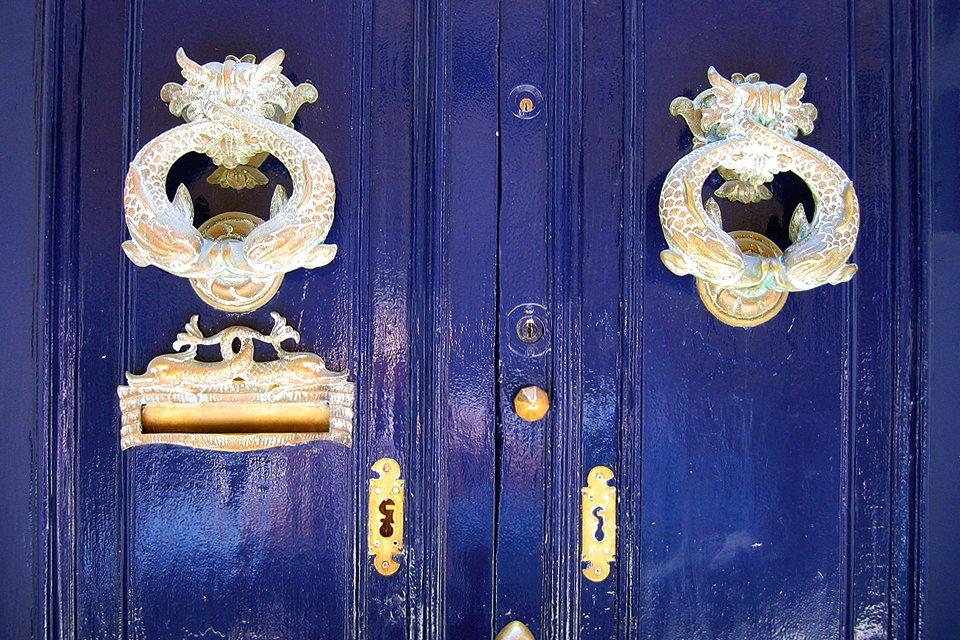 Detail van een deur, Malta