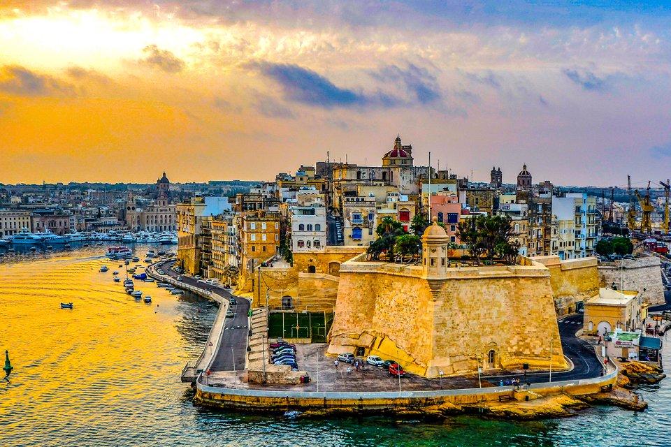 Haven van Valletta, Malta
