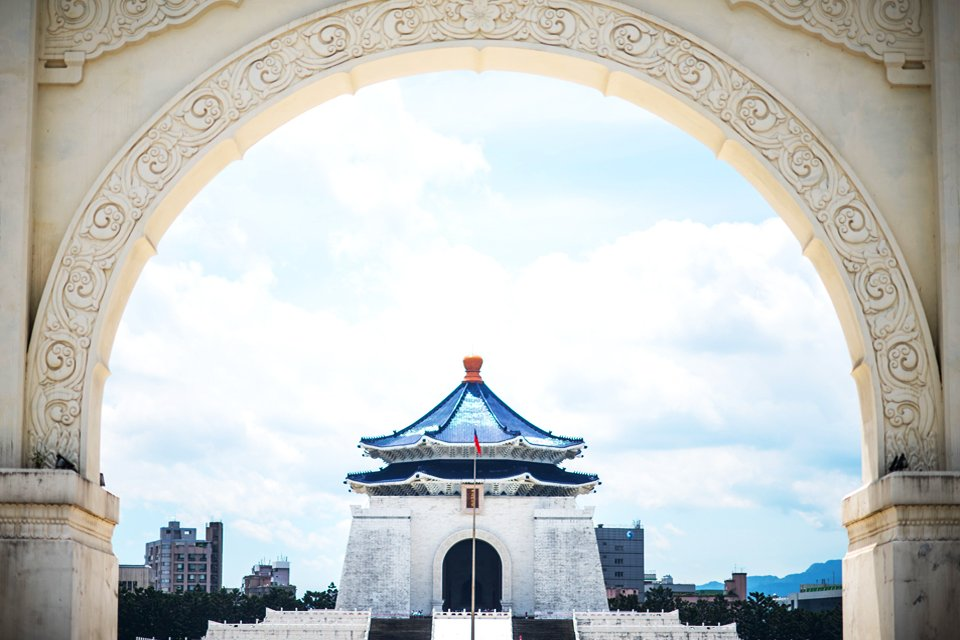 Chiang Kai Shek Monumentencomplex, Taiwan