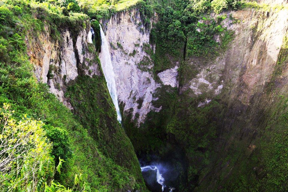 Salto de Mortiño, Colombia
