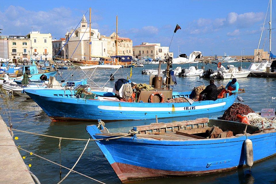 Trani in Apulië, Italië