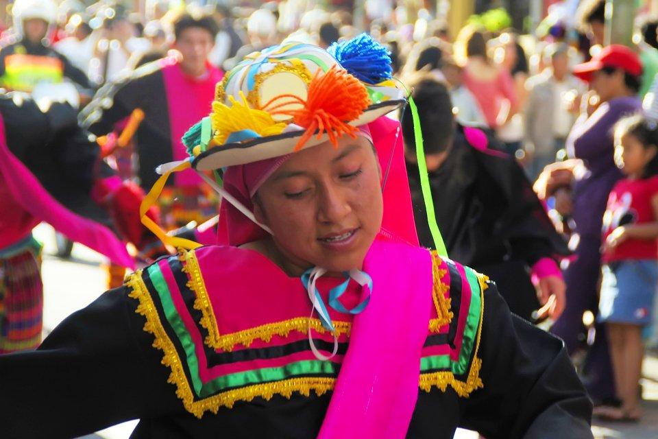 Otavalo in Ecuador