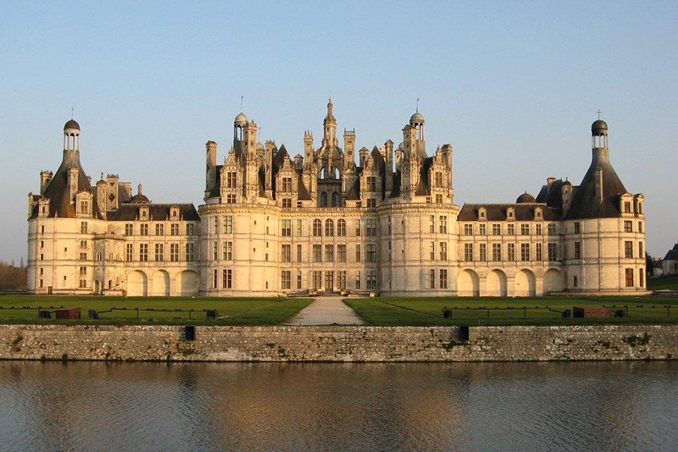 Kasteel Château Chambord in Frankrijk