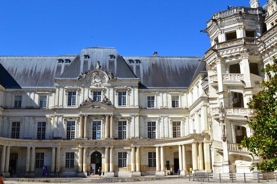 Kasteel Château de Blois in Frankrijk