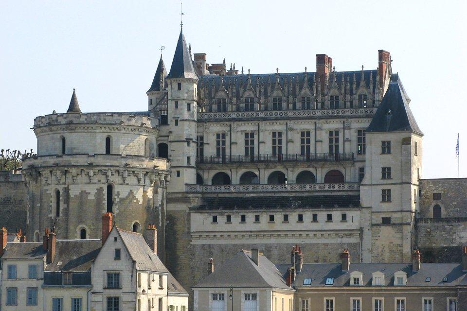 Kasteel van Amboise in Frankrijk