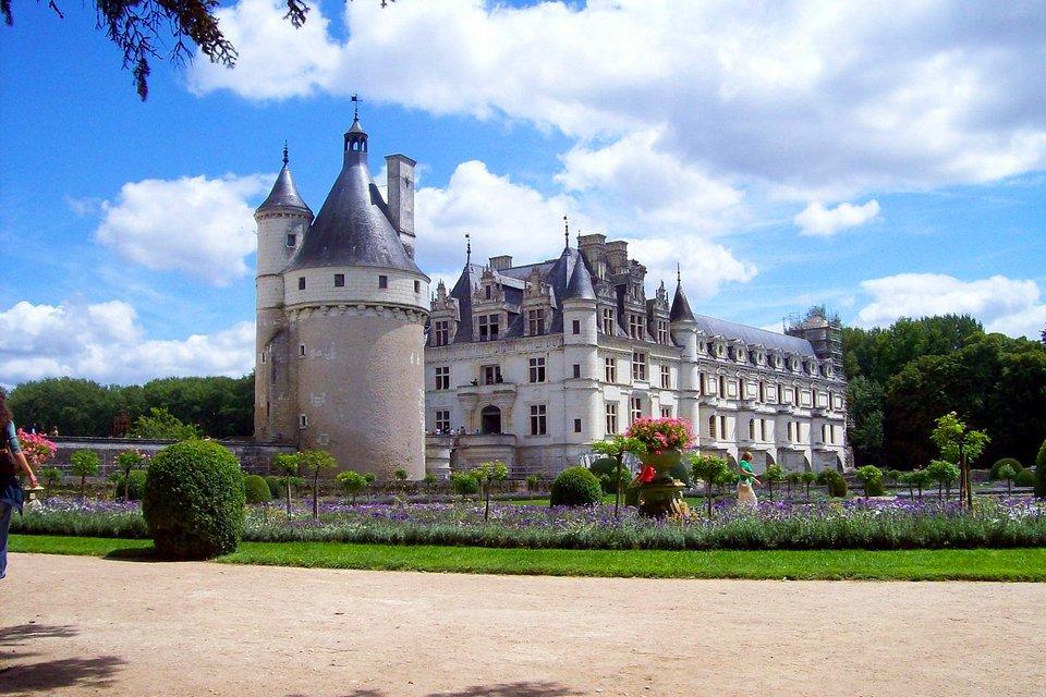 Kasteel Château de Chenonceau in Frankrijk