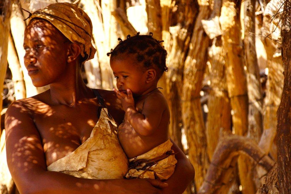 Locals, Namibië | Foto Peter van de Wiel