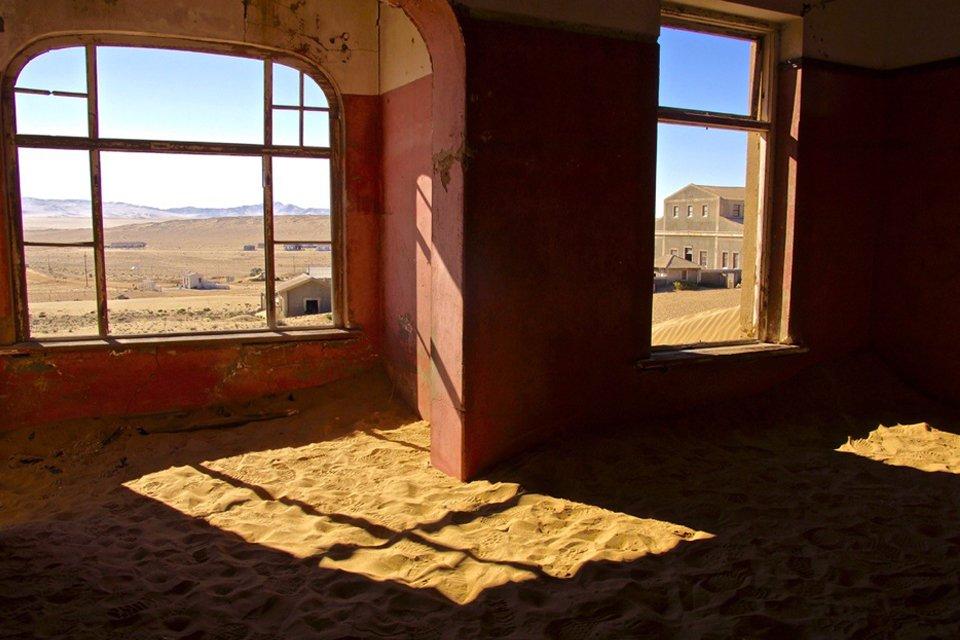 Kolmanskop, Namibië | Foto Peter van de Wiel