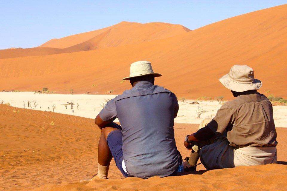Sossusvlei, Namibië | Foto Peter van de Wiel