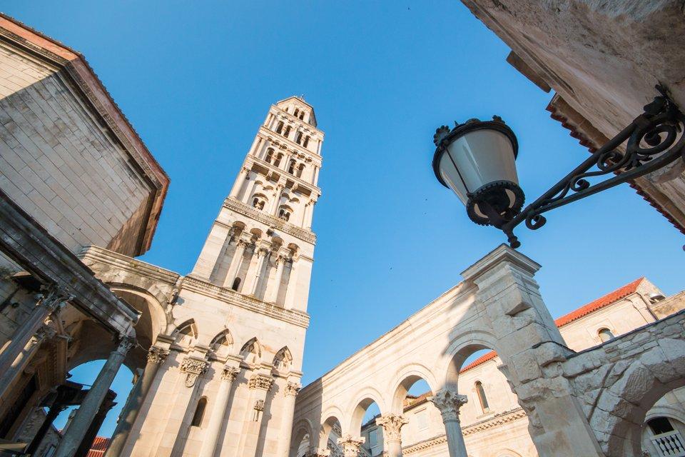 De Sint Domniuskathedraal in Split, Kroatië