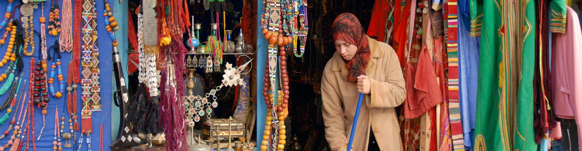 Medina van Marrakech, Marokko