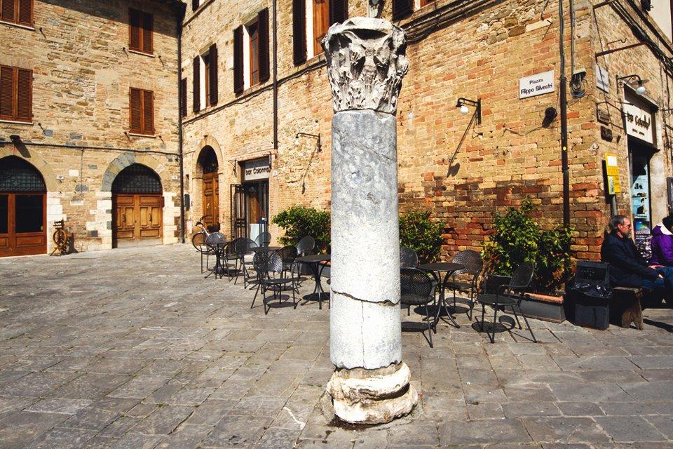 Bevagna in Umbrië, Italië