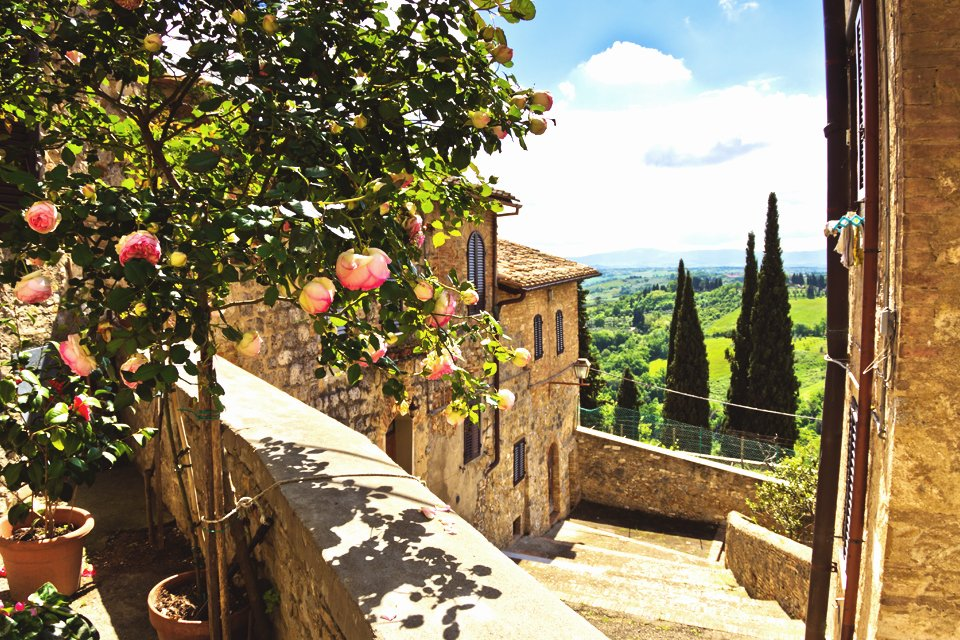 San Gimignano, Toscane, Italië