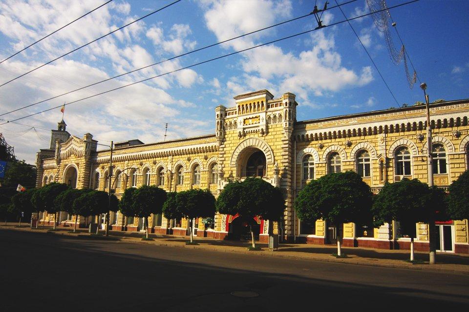 Chisnau in Moldavië