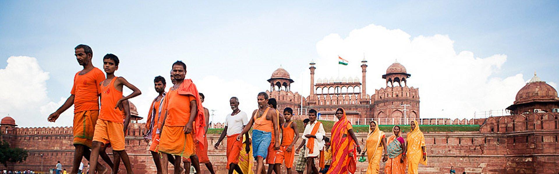 Rode Fort in Delhi, India