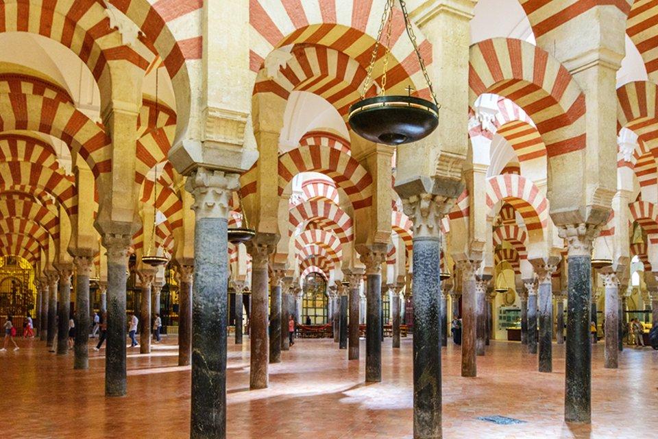 De Mezquita in Córdoba, Spanje