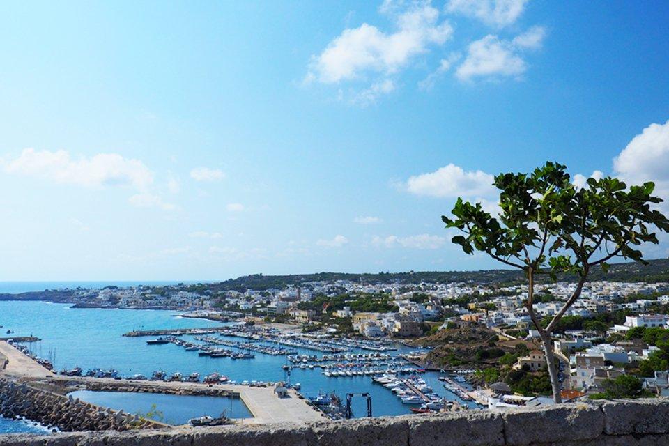 Otranto aan de Apulische kust, Italië