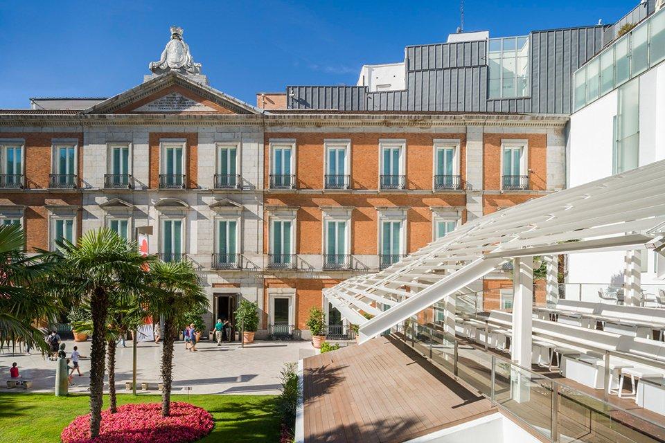 Museo Nacional Thyssen-Bornemisza in Madrid, Spanje