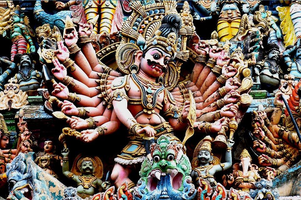 Madurai Tempel, India