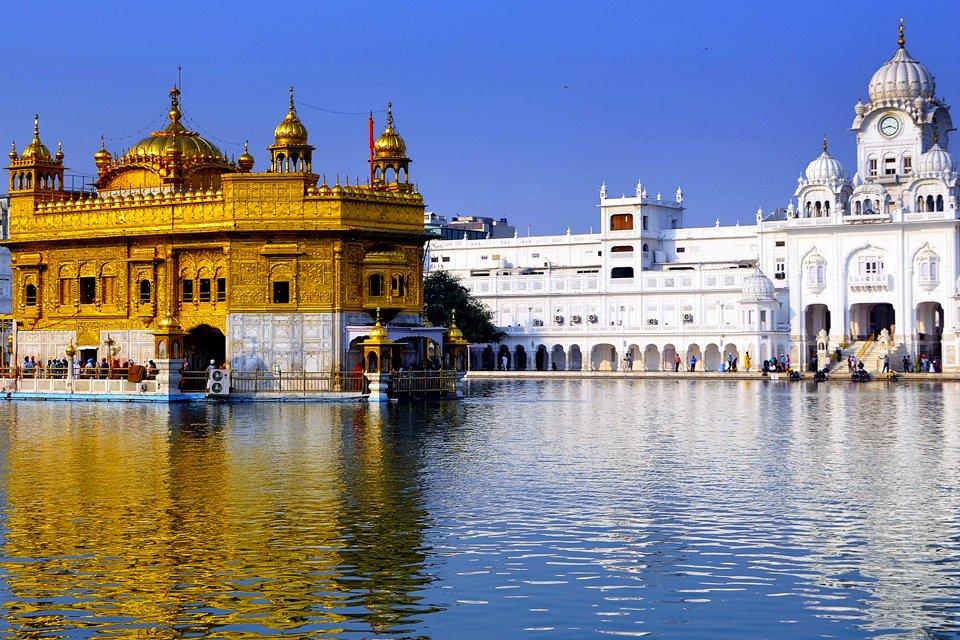 Gouden Tempel Amritsar, India