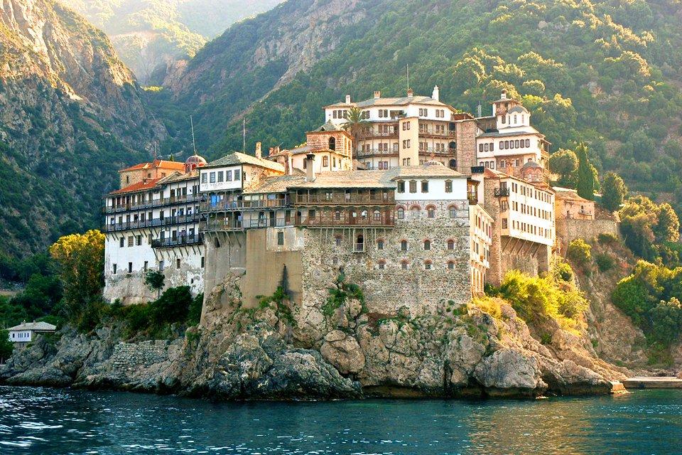 Mount Athos in Griekenland