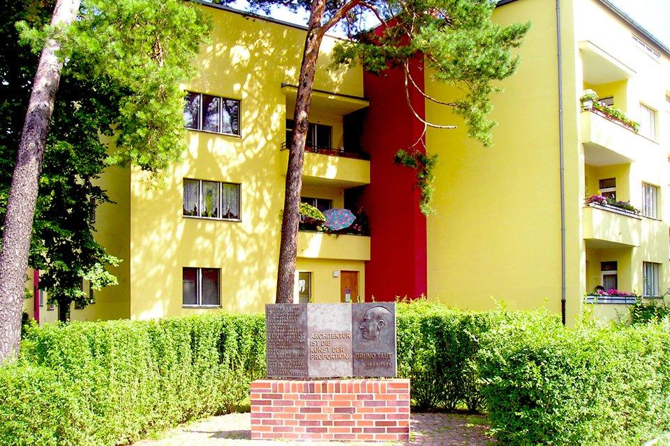 Monument van Bruno Taut in Onkel Toms Hütte, Duitsland