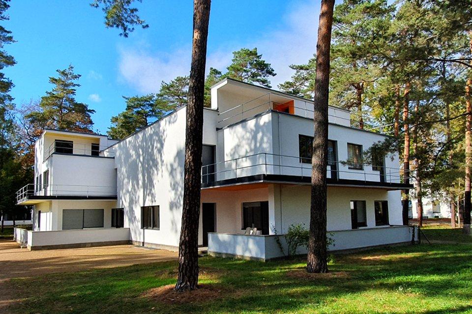 Meisterhäuser in Dessau, Duitsland
