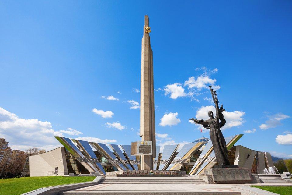 Monument Heldenstad Minsk, Wit-Rusland