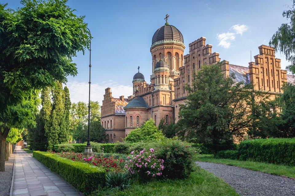 Chernivtsi, Oekraïne