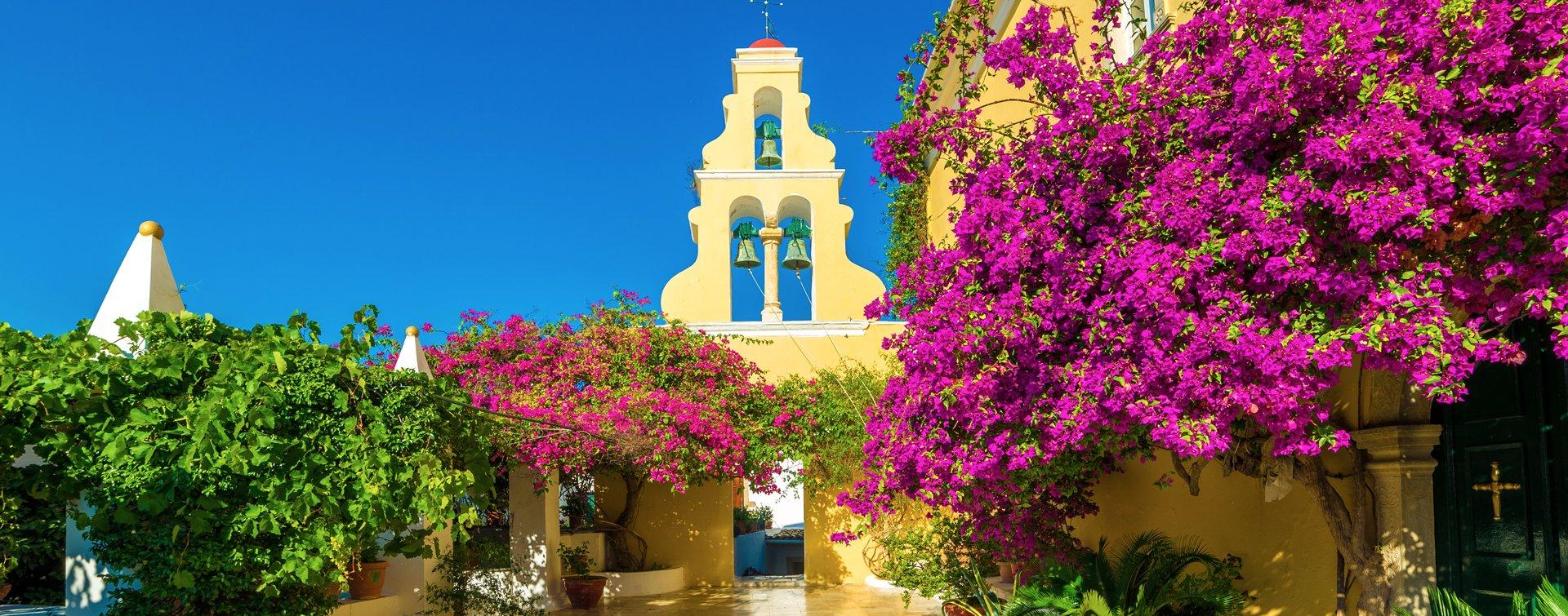 Theotokos-klooster op Corfu, Griekenland