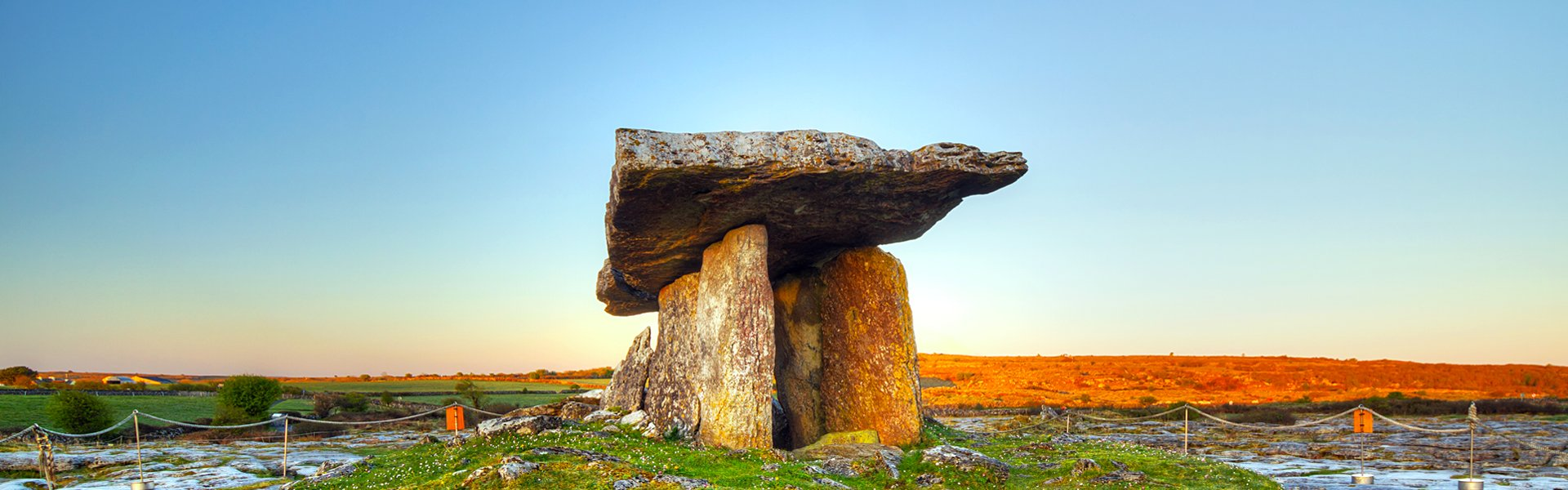 Dolmen in Burren, Ierland