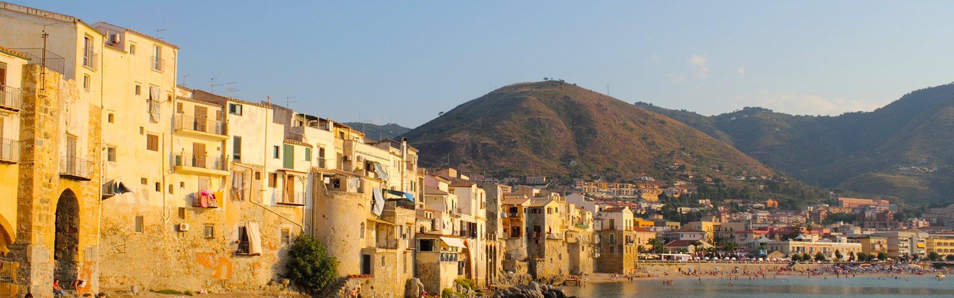 Cefalù in Sicilië, Italië