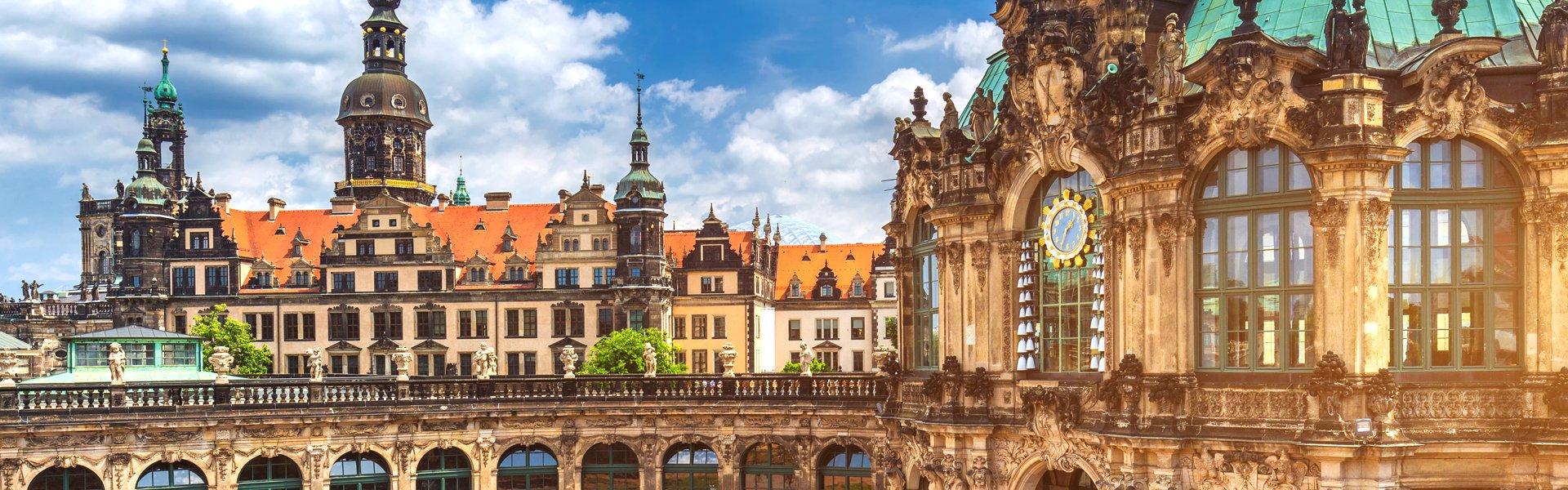 Zwinger in Dresden, Duitsland