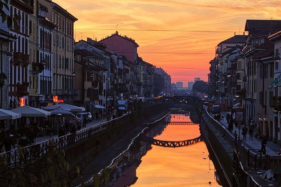 Navigli, Milaan, Italië