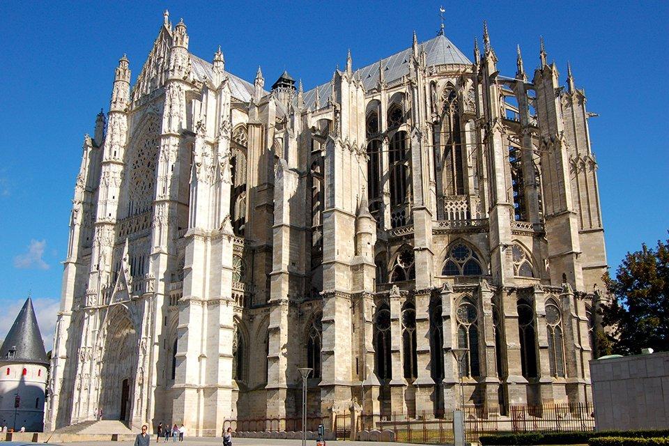 Kathedraal van Beauvais in Frankrijk