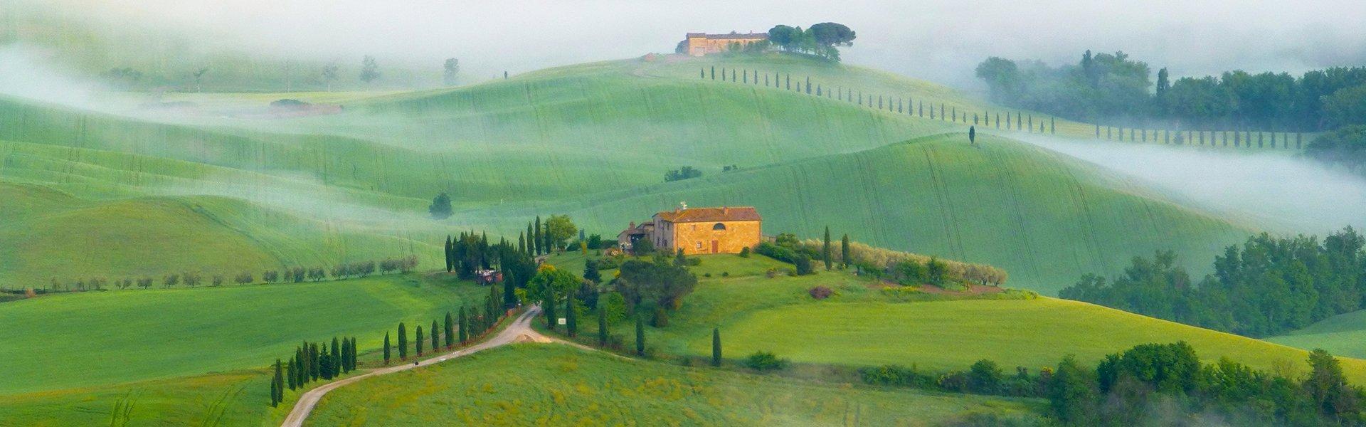 Val d'Orcia, Toscane Italië