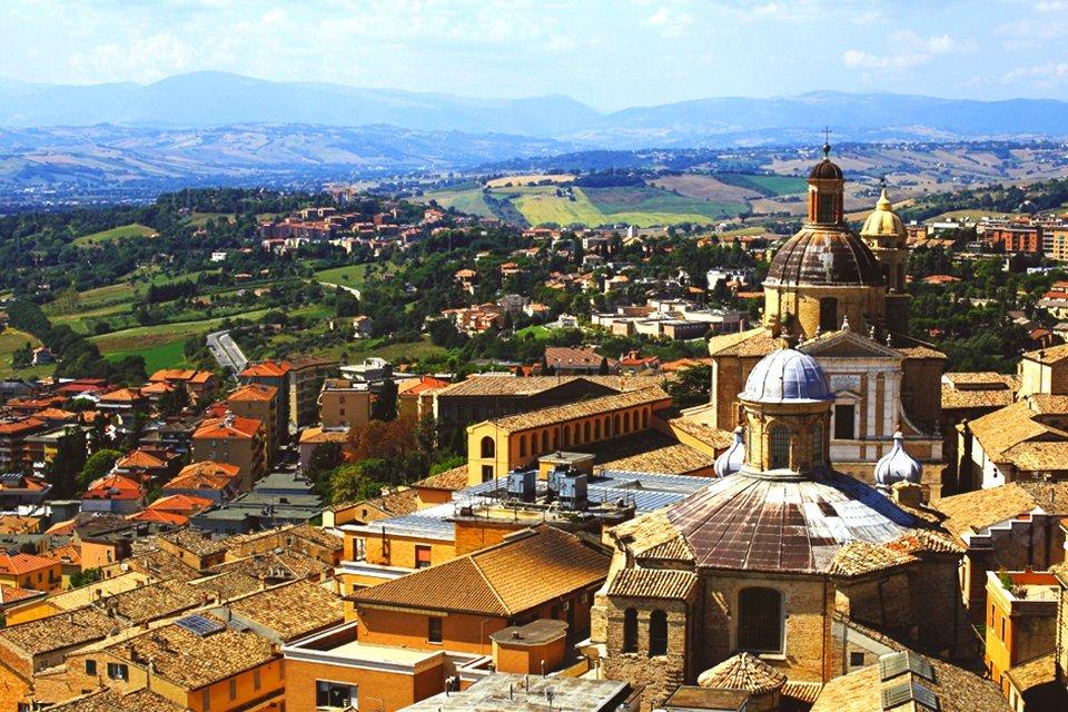 Macerata in de Marken, Italië