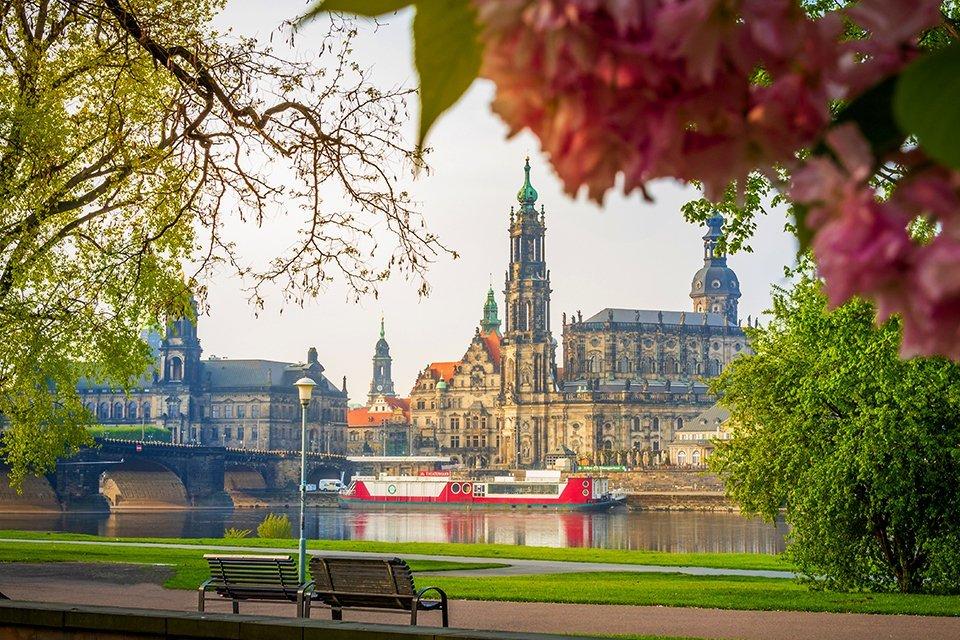 Hofkirche in Dresden, Duitsland