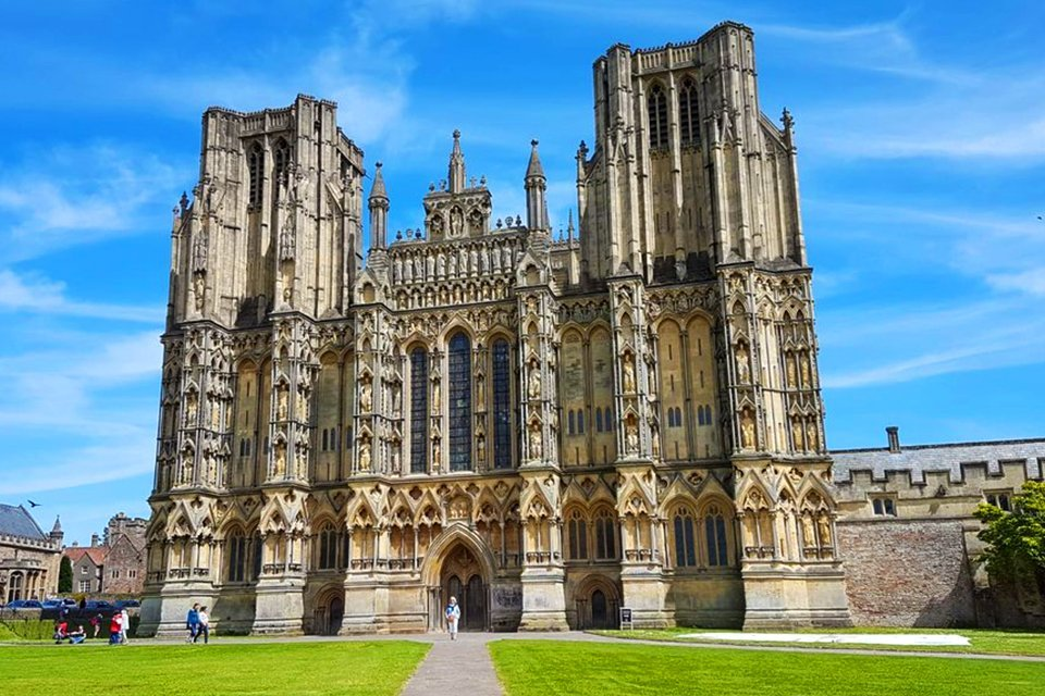 Wells Cathedral, Groot-Brittannië