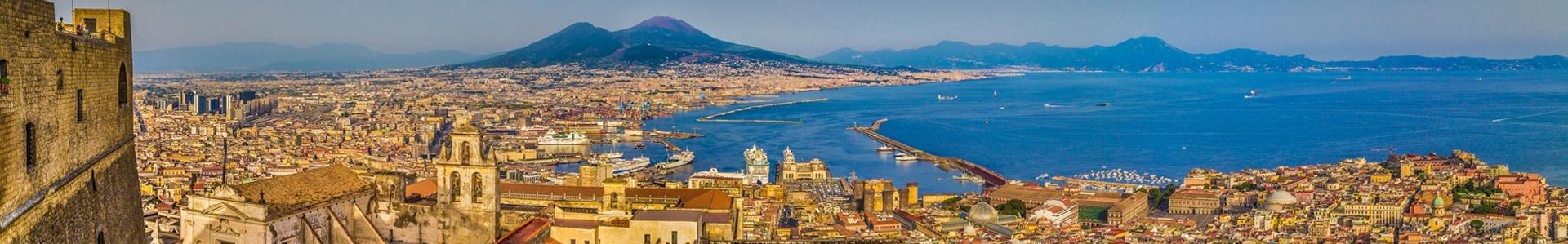 De Golf van Napels, Italië