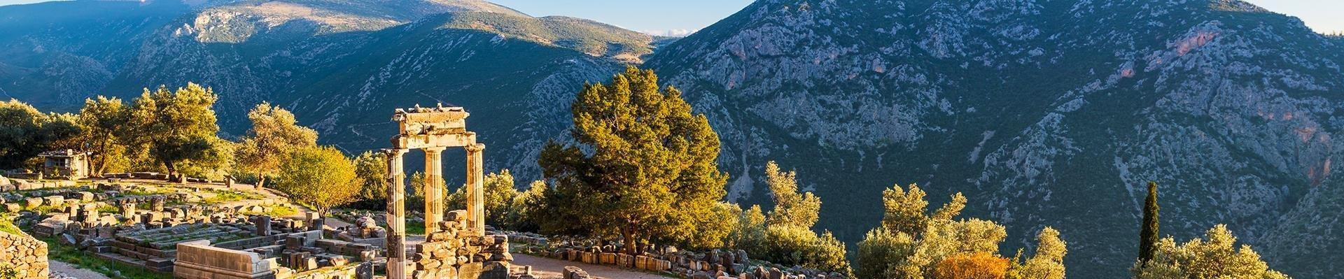 Delphi in Griekenland