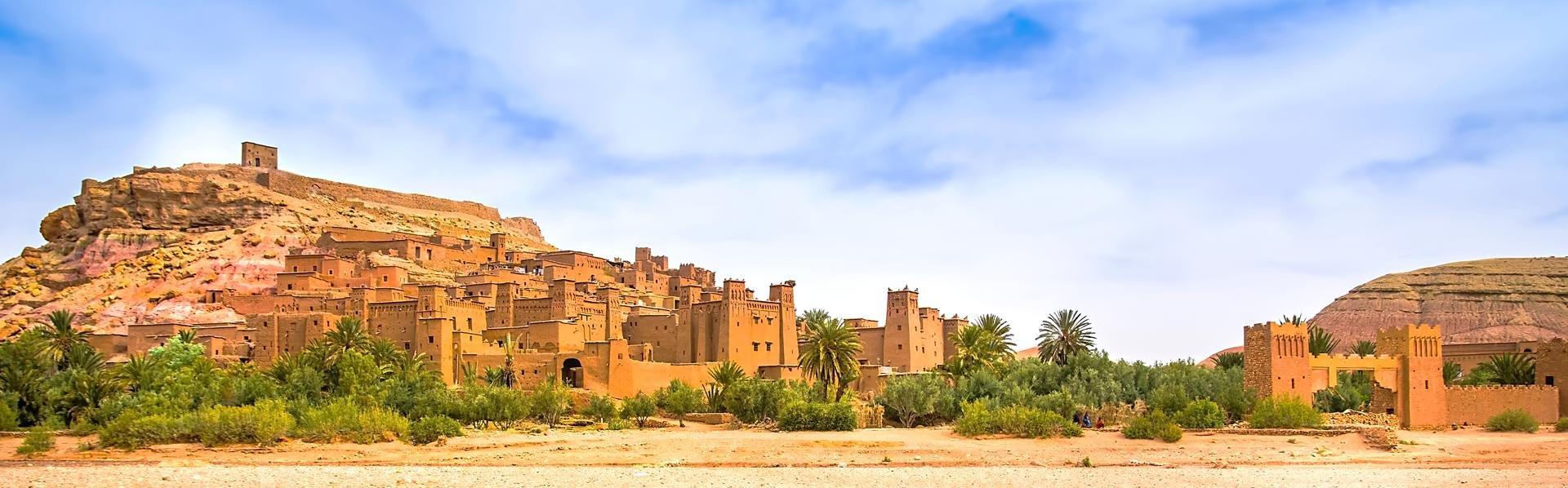 Kasbah Ait-ben-Haddou in Marokko